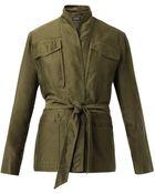 Isabel Marant John Multi-Pocket Cotton Jacket - Lyst