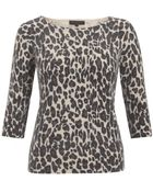 Great Plains Leopard Print Sweater - Lyst