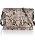Marni Trunk Medium Python Shoulder Bag - Lyst