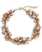 Cara Clustered Gem Collar Necklace - Lyst