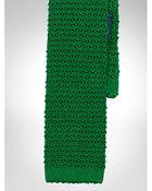Polo Ralph Lauren Solid Knit Silk Tie - Lyst