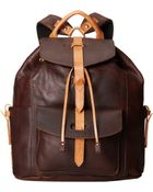 Will Leather Goods Rainier Backpack - Lyst
