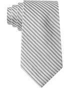Calvin Klein Silk Stripe Tie - Lyst