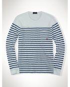 Polo Ralph Lauren Striped Long-Sleeved T-Shirt - Lyst