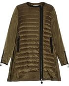 Moncler Arielle Quilted Panel Jacket - Lyst