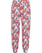 House of Holland Printed Cotton-Jersey Track Pants - Lyst