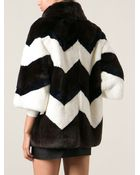 P.A.R.O.S.H. Oversized Coat - Lyst