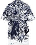 Josh Goot Mini Shirt Dress - Lyst