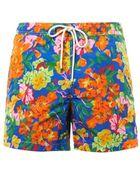 "Polo Ralph Lauren Floral Island 5"" Swim Shorts - Lyst"