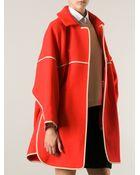 Chloé Oversized Coat - Lyst