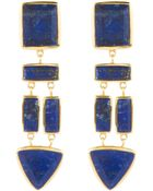 Margaret Elizabeth The Mira Earrings, Lapis - Lyst