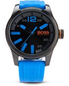 BOSS Orange 1513048 | Silicone Strap 3-Hand Quartz Sporty Paris Watch - Lyst
