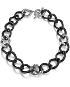 John Hardy Dragon Station Necklace On Large Chain Link - Lyst
