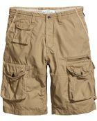 H&M Cargo Shorts - Lyst