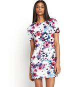 Glamorous Floral Shift Dress - Lyst