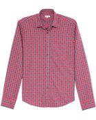 Steven Alan Reverse Seam Flannel Shirt - Lyst