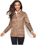 Barbour Summer Beadnell Quilt Jacket - Lyst