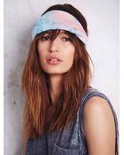 Free People Silky Tie Dye Headband - Lyst