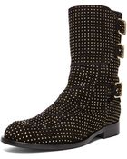Laurence Dacade Suede Studded Rick Boot - Lyst