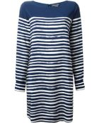 Vince Striped Dress - Lyst