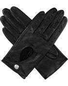 Dents Leather Keyhole Driving Gloves - Lyst