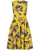 Jonathan Saunders Knee-Length Dress - Lyst