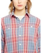 Ralph Lauren Flannel Twill Shirt - Lyst