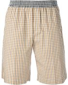 N°21 Gingham Shorts - Lyst