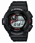 G-Shock Men'S Digital Mudman Black Resin Strap Watch G9300-1 - Lyst