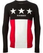Diesel Black Gold 'Star Royal Family' Sweater - Lyst