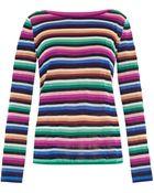 Missoni Striped Fine-Knit Sweater - Lyst