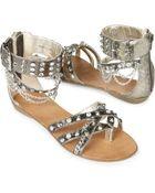 Carvela Kurt Geiger Kiki Studded Wedge Sandals - Lyst
