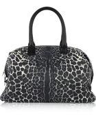 Saint Laurent Easy Leopard-print Tote - Lyst
