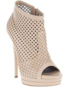 Casadei Cut Away Detail Boot - Lyst