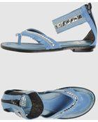 Enrico Fantini Flip Flops - Lyst