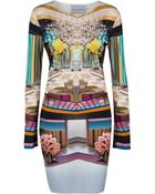 Mary Katrantzou Alcatraz Jersey Dress - Lyst
