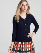 Milly Bonnie Oversized Button Cardigan - Lyst