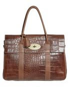 Mulberry Bayswater Print Top Handle - Lyst