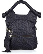 Foley + Corinna Small Disco City Leopard-print Leather Tote - Lyst