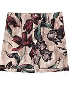 Marni Printed Silk Shorts - Lyst