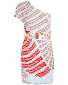 Sass & Bide One Shoulder Mini Dress - Lyst