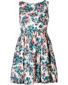 Wren Floral Dress - Lyst