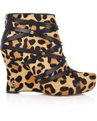 House Of Harlow 1960 Ava Leopard Calf Hair - Lyst