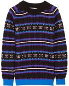 Proenza Schouler Chunky-knit Wool-blend Sweater - Lyst