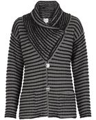 Armani Striped Shawl Collar Jacket - Lyst