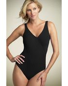 Gottex Mikado Surplice One-piece Swimsuit - Lyst