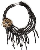 Alexis Bittar Black Baroque Pearl Necklace - Lyst