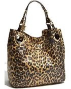 Steven by Steve Madden Candy Coated Leopard Print Faux Leather Tote - Lyst