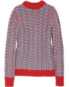 Jil Sander Chunky-knit Cashmere Sweater - Lyst