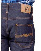 Nudie Jeans Grim Tim Dry Orange Selvage - Lyst